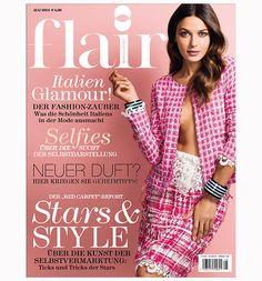 Die Mai 2014 Ausgabe des flair Magazins ist seit dem 17.April am Kiosk. Hier finden Sie einen Blick ins Heft... http://www.flair-magazin.de/fashion/artikel/flair-im-mai-2014-ein-blick-ins-heft.html
