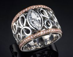 This is just one of the unique jewelery designs by Laura Tedesco. She does amazing work.