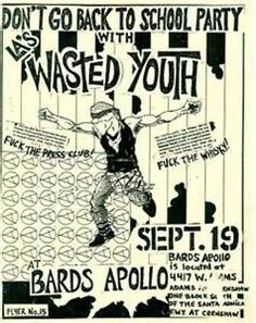 old punk flyers - Bing Images
