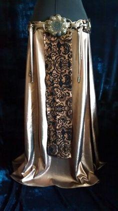 Skirt with belt. Imani
