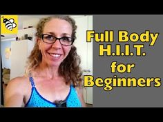 Full Body High Intensity Workout for Beginners - Burn Fat and Calories w...