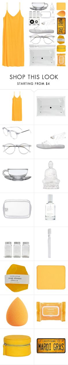 """""""Off 439"""" by juuliap ❤ liked on Polyvore featuring Wildfox, Ancient Greek Sandals, Lalique, John Lewis, Splendid, Park Hill Collection, Supersmile, shu uemura, Ole Henriksen and Mele & Co."""