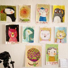 Natascha Rosenberg - illustrator....very sweet imagination. Soothes the inner child