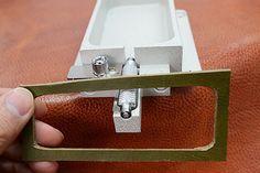 Steel Rollerprotrusion StyleLeather Edge paint by VACHETA on Etsy
