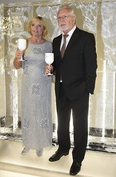 Jaromír Hanzlík s partnerkou Sequin Skirt, Sequins, Elegant, Formal, Skirts, Dresses, Style, Fashion, Classy