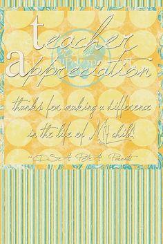 more inexpensive teacher appreciation gift ideas