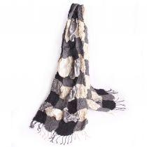 handgeweven zijden sjaals, (fair trade). Designed by Fates. www.fates.nl