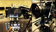 Rodney Charters (@rodneykiwi):  Robin tests his new Red Rock Micro Follow Focus rig