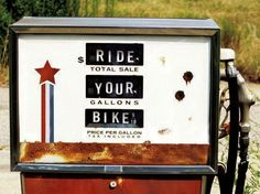 Ride. Your. Bike.