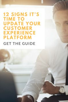 This guide presents 12 signs your customer experience management platform may be holding you back, and explains how upgrading to a solution like Sitecore can help ensure you don't lose out on revenue.