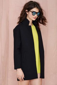 Finders Keepers Stand Still Scuba Coat - Coats | Finders Keepers