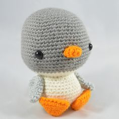 Freezy the Penguin amigurumi by YOUnique crafts