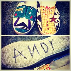 I saw this on etsy and made them DIY shoes