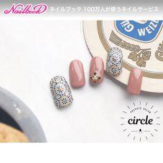 海外のかわいい壁画模様のネイル #ジェルネイル #タイルネイル #ハンド #アンティーク #エスニック #ジェルネイル #ネイルチップ #circle.nail #ネイルブック