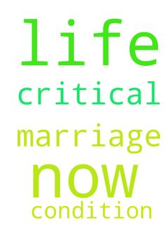 Pray for my Marriage and my life now I am in critical - Pray for my Marriage and my life now I am in critical condition Posted at: https://prayerrequest.com/t/sLM #pray #prayer #request #prayerrequest