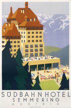 LINDAU GERMANY SEEGARTEN HOTEL VINTAGE LUGGAGE LABEL