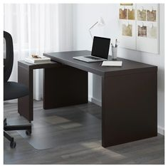 Online Ikea IKEA MALM Desk with pull-out panel, white in Auckland NZ. Lowest prices and largest range of IKEA Furniture in New Zealand. Shop for Living room furniture, outdoor furniture, bedroom furniture, office and alot more ! Home Office Design, Home Office Decor, Home Decor, Office Ideas, Office Set, Office Style, Apartment Furniture, Home Office Furniture, Ikea Malm Desk
