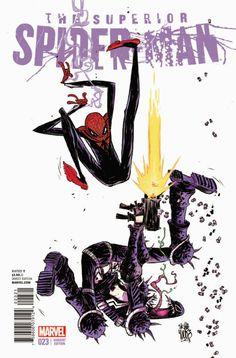 Superior Spiderman 23. Skottie Young variant cover