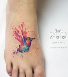 51 Watercolor Tattoo Ideas for Women