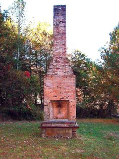 This is in Ellijay, Georgia on a side road that me and a friend got off on, on our way to our hotel. I saw this old remains of a fire place. Taken with my Sony Cyber Shot Camera.