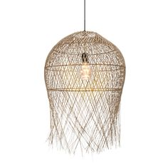 Coron Ceiling Pendant 46cm Selected Stores Natural