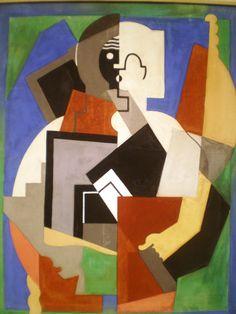 """cubism-art: """"The Schoolboy, Albert Gleizes """" Cubism Art, Art Museum, Sculpture Art, Abstract Painting Acrylic, Painting, Art, Ad Art, Artwork Painting, Figurative Artists"""