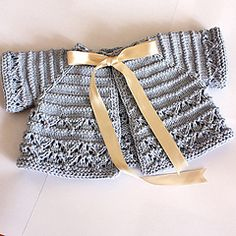 Ravelry: Baby Cardigan/Shrug pattern by Julia Noskova (DK weight)