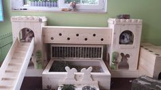 Move over bunnies - this would be great for piggies Bunny Cages, Rabbit Cages, House Rabbit, Rabbit Toys, Bunny Rabbit, Hunny Bunny, Baby Bunnies, Rabbit Playground, Rabbit Habitat