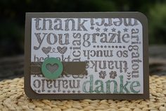 A World of Thanks Stamp Set by Stampin' Up