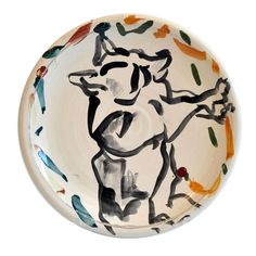 1970s Ceramic Plate By Peter Shire | 1stdibs.com