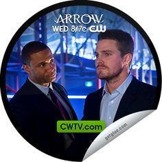 Steffie Doll's Arrow: The Huntress Returns on CWTV Sticker   GetGlue