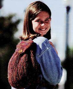 Simple Garter Stitch Backpack Pattern (Knit)