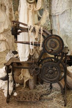 Antique Sewing Machine Wish I knew what year this was made!