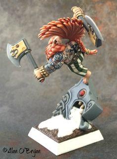 Games Workshop Dwarf Dragon Slayer