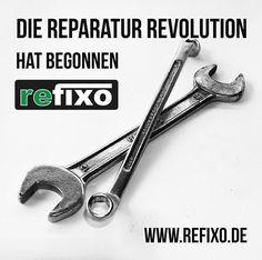 Die #Reparatur #Revolution hat begonnen. www.refixo.de ~ #techniker #software #rep #wawi #kasse #pos #reparaturapp #refixo #reparatur #reparieren #repariert #kaputt #defekt #werkstatt