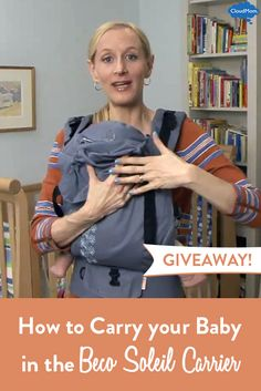 Own a Beco Soleil Baby Carrier? This helpful video tutorial will give you an easy step-by-step guide to baby carrying with the Soleil (PLUS enter our Beco Soleil Giveaway to WIN the carrier)!