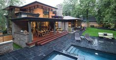 David's House | David Small Designs www.davidsmalldesigns.com #modernarchitecture #backporch