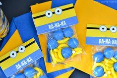 Minions Banana Treat Printable