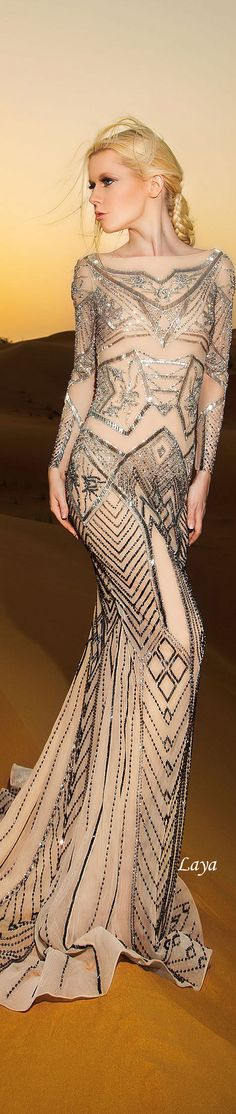 DANY TABET Spring-Summer 2015 COUTURE  | Maid of Honor Dress
