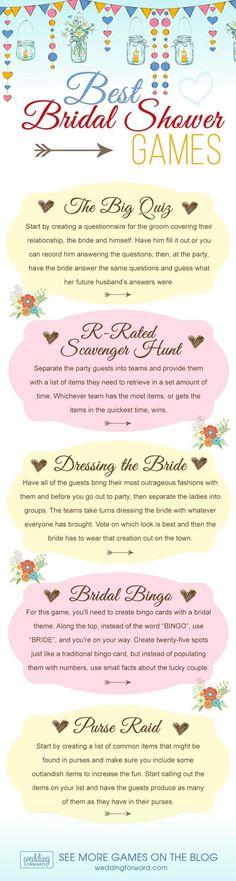 wedding entertainment infographics best bridal shower games 5 fun quiz bingo dressing the bride weddingplanninginfographic