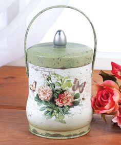Another great find on #zulily! French Floral Tin #zulilyfinds