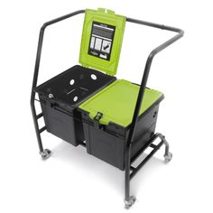 Tech Tub Cart with 2 Base Tech Tubs at Tomorrows Classroom