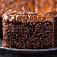 Say hello to the BEST chocolate sheet cake recipe! Supremely moist, fudgy, and full of decadent chocolate flavor! But the best part? This cake is … Decadent Chocolate Cake, Frozen Chocolate, Chocolate Frosting, Best Chocolate, Chocolate Flavors, Melting Chocolate, Sheet Cake Recipes, Sheet Cakes, Zucchini Cake