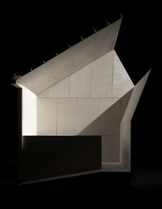 section model and light study