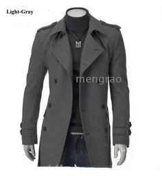 Hot Winter Jacket Men Thick Military Long Slim Jackets Men's Fashion Overcoat Brand Clothing Plus Size jaqueta masculino Winter Trench Coat, Long Winter Coats, Trench Coats, Long Coats, Male Trench Coat, Parka Coat, Sharp Dressed Man, Well Dressed Men, Mode Man