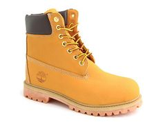 Timberlands are poppin
