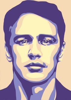 #JamesFranco #popart #poster #portrait #art