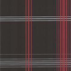 DL30472 Charcoal Plaid - Oskar - Decorline Wallpaper
