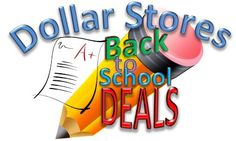 Dollar Stores School Supply Deals as of 7-7 ~ Dollar General and Dollar Tree Back to School items! Get the details ► http://www.thecouponingcouple.com/dollar-stores-school-supply-deals-as-of-7-7-2014-classroom-campus/