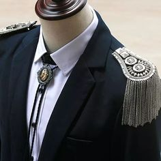 Buy Fringed Epaulette brooch, shoulder epaulette, costume addition, pack of 2 at Wish - Shopping Made Fun Suit Accessories, Wish Shopping, Cool Costumes, Brooch Pin, Wedding Events, Korean Fashion, Suits, Chain, Gold